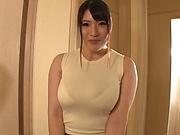 Yurai Chitose is good at POV tit fuck