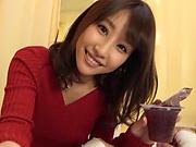 Ayami Shunka is pampering her ex guy