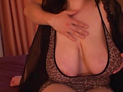 Horny babe with huge boobs wants dick
