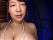 Fantastic milf Yuzuki Marina gets her huge boobs squeezed