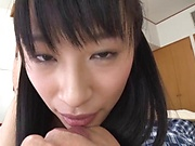 Haruna Hana enjoys a wild dick riding