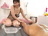 An Mashiro in complete hardcore massage session