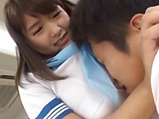 Gotou Rika is getting a rear fuck