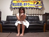 Wakaba Onoue gives some good head to her dude picture 11