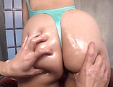 Excited babe is moaning from pleasure picture 12