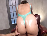 Excited babe is moaning from pleasure picture 14