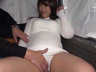 Lovely girl is experiencing an orgasm