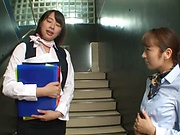 Haruna Hana is a naughty office lady