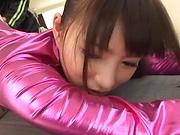 Hakii Haruka ,enjoys an erotic fisting