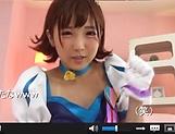 Sakura Kizuna sex cosplay and hardcore sex on cam picture 13