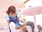Sakura Kizuna sex cosplay and hardcore sex on cam picture 15