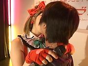 Luscious Ai Uehara enjoys sucking stiff member