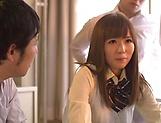 Yuu Asakura gets her twat toyed and fucked well