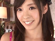 Cosplay girl Fujii Arisa in sexy lingerie sweet erotic action