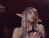 Sexy Japanese with big tits, insane hard porn