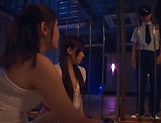 Three admirable girl from Tokyo lick a submissive dude picture 3
