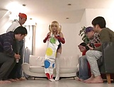 Sexy Japanese cosplay with Meguri, hot Asian babe