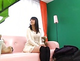 Ai Uehara gives an intimate blowjob before taking load picture 3