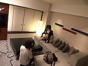 Kinky cutie Kawamura Maya shows off her sexy black spandex