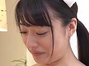 Nanase Mai is a very naughty teen