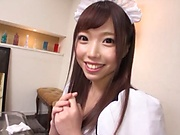 Maid likes to give blowjobs for free