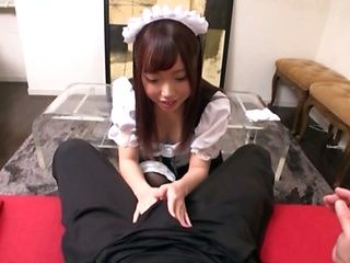 Sweet japanese maid cute sex