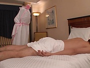 Voluptous beauty Shelly Fujii gets some good sex