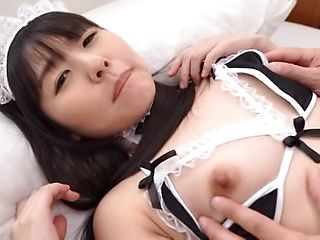 Cute Cosplay Maid Loves To Suck Cock