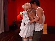 Sizzling hot Kisaki Yua gets a sensual pounding
