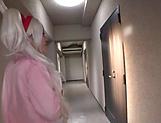 Tsukino Serina got a doggy- style fuck