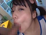 Schoolgirl Nanase Mai had casual sex