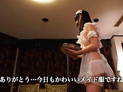 Horny love Tsubomi gets her wet hairy cunt filled with cum