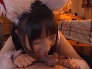 Eikawa Noa giving a mouth watering shag