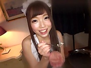Aise Miki is a dirty minded teen maid