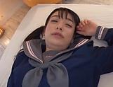 Hot Japanese schoolgirl got fucked picture 12