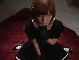 Sakura Kizuna ,gets kinky on a huge dildo