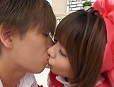 Stunning Asian foursome scenes with two horny babes