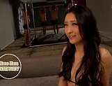 Nasty Asian minx Kanou Hana gets gangbanged picture 4