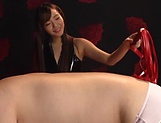 Kinky wax pouring fetish play for Sarina Kurokawa