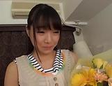 Naughty Asian teen Ayane Suzukawan is into threesome toying