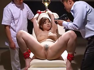Busty babe Chie Nakamura gets toyed brilliantly