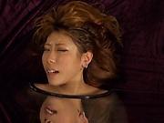 Hardcore gang bang for a hot Japanese girl