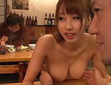Woman with big tits fucked a stranger