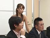 Looks like Ayami Shunka likes public sex