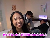 Hot love Airi Rui gets her tiny tits licked and sucked