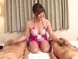 Sweet Asian AV milf Aoi Yurika craves for many cocks