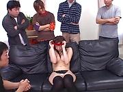 Yukimi Saya, gets multipl cumshots