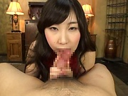 Asian dolls sharing cock in excellent oral play