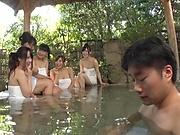Japanese ladies like gang bang sessions