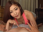 Hot milf xzuo eatured in a foursome action